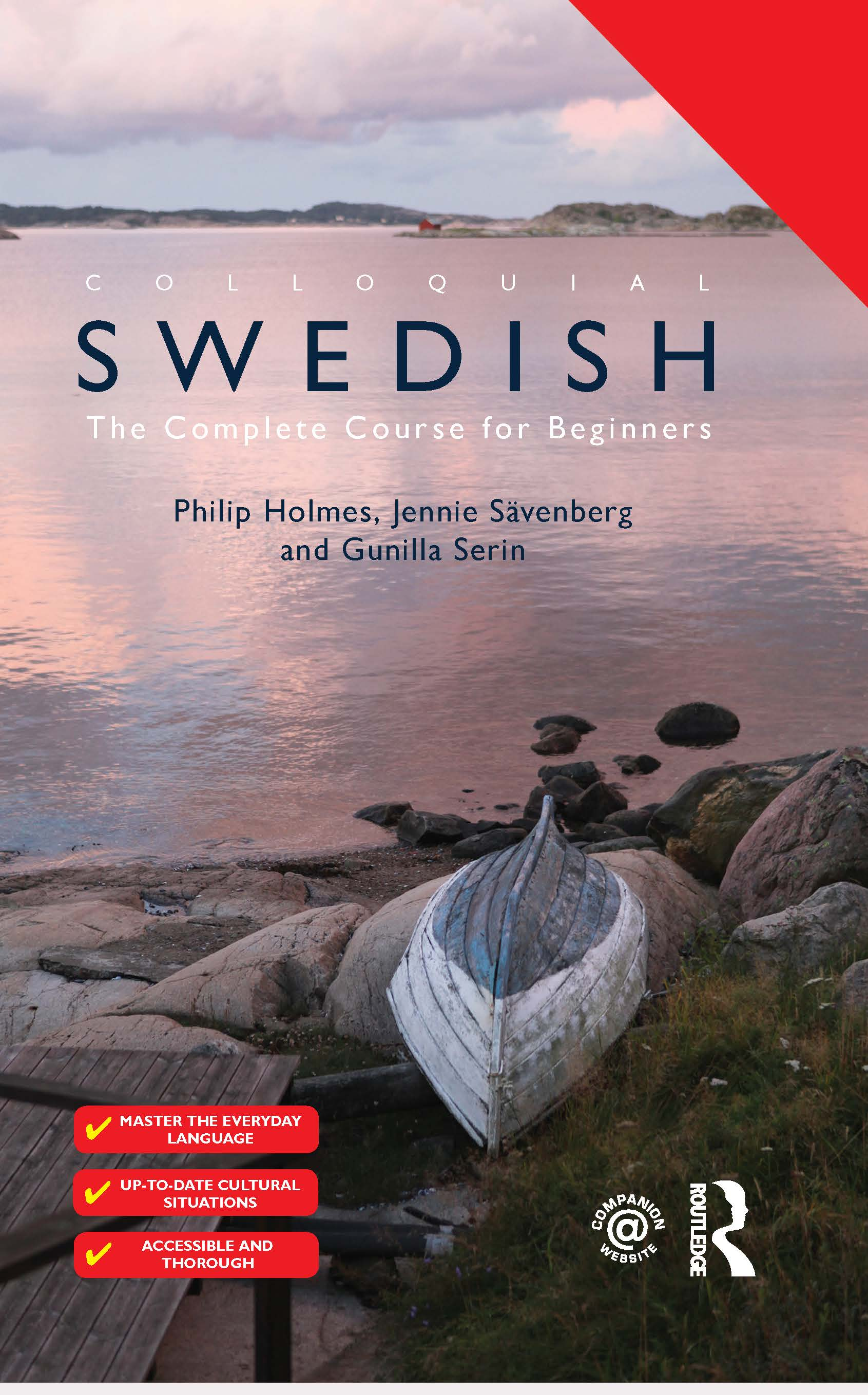 Colloquial Swedish: The Complete Course for Beginners book cover