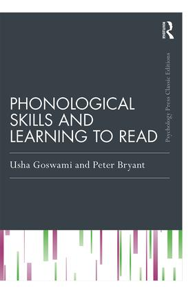 Phonological Skills and Learning to Read book cover