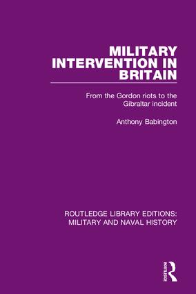 Routledge Library Editions: Military and Naval History book cover