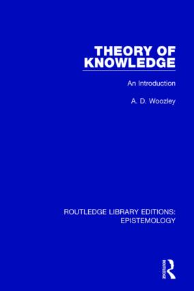Theory of Knowledge: An Introduction book cover