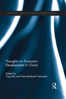 Thoughts on Economic Development in China (e-Book) book cover