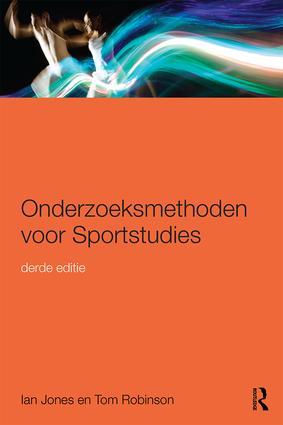 Onderzoeksmethoden voor Sportstudies: 3e druk book cover