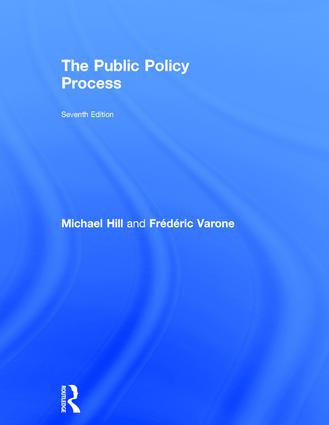 The Public Policy Process: 7th Edition (Hardback) book cover