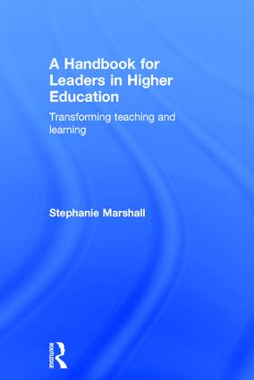 A Handbook for Leaders in Higher Education