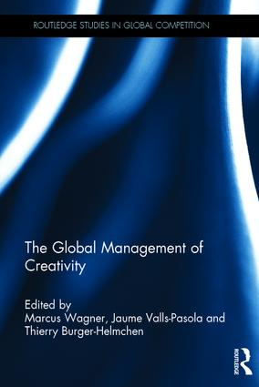 The Global Management of Creativity book cover