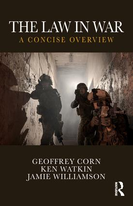 The Law in War: A Concise Overview book cover