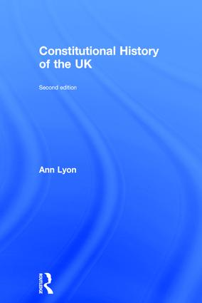 Constitutional History of the UK book cover
