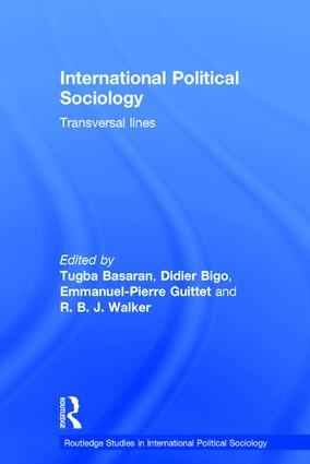 International Political Sociology: Transversal Lines, 1st Edition (Hardback) book cover
