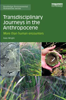 Transdisciplinary Journeys in the Anthropocene: More-than-human encounters, 1st Edition (Hardback) book cover