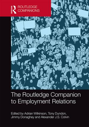 The Routledge Companion to Employment Relations book cover