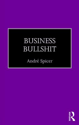Business Bullshit (Paperback) book cover