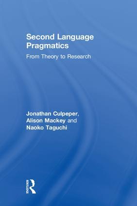 Data Elicitation Methods in L2 Pragmatic Interaction