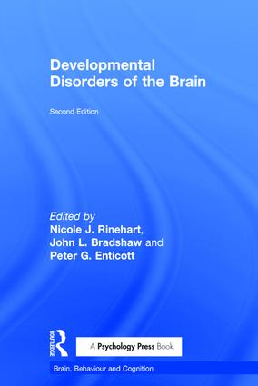 Developmental Disorders of the Brain book cover
