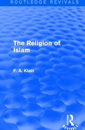 The Religion of Islam (Routledge Revivals): 1st Edition (Paperback) book cover