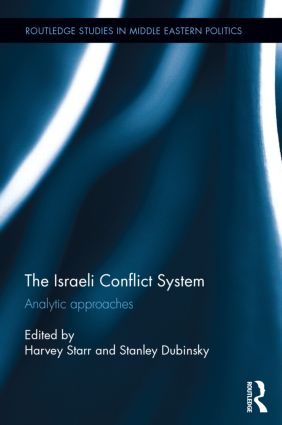The Israeli Conflict System: Analytic Approaches (Hardback) book cover