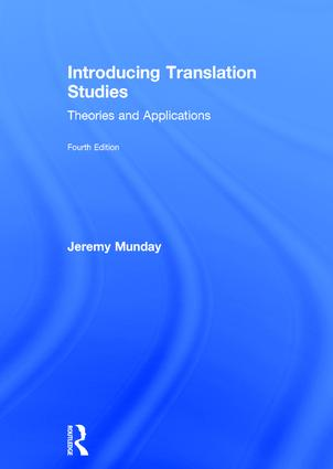 Introducing Translation Studies: Theories and Applications book cover