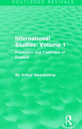 International Studies: Volume 1: Prevention and Treatment of Disease, 1st Edition (Hardback) book cover
