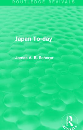 Japan To-day (Routledge Revivals): 1st Edition (Paperback) book cover