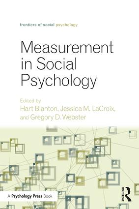 Measurement in Social Psychology: 1st Edition (Paperback) book cover