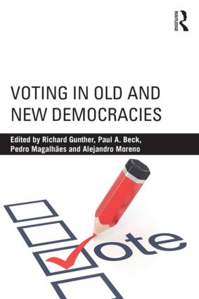 Voting in Old and New Democracies (Paperback) book cover
