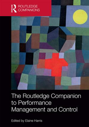 The Routledge Companion to Performance Management and Control book cover
