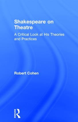 Introduction: Shakespeare as a Man of the Theatre