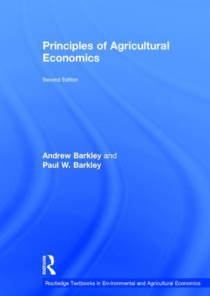 Principles of Agricultural Economics book cover