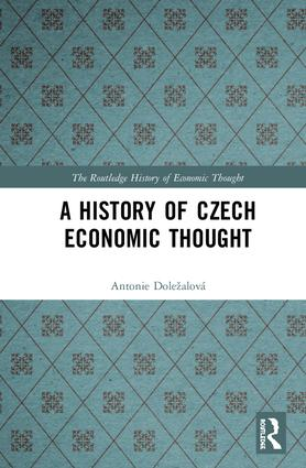 A History of Czech Economic Thought book cover
