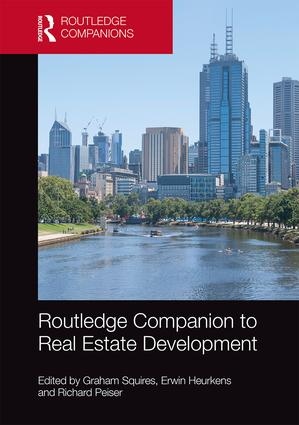 Routledge Companion to Real Estate Development: 1st Edition (Hardback) book cover