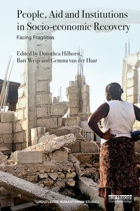 People, Aid and Institutions in Socio-economic Recovery: Facing Fragilities (Paperback) book cover