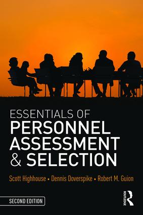 Essentials of Personnel Assessment and Selection: 2nd Edition (Paperback) book cover