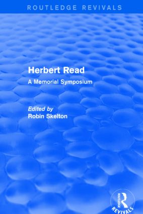 Herbert Read (Routledge Revivals): A Memorial Symposium, 1st Edition (Paperback) book cover