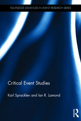 Critical Event Studies: 1st Edition (e-Book) book cover