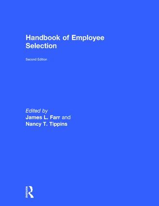 Handbook of Employee Selection book cover