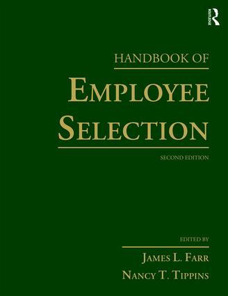 Handbook of Employee Selection: 2nd Edition (Paperback) book cover