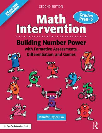 Math Intervention P-2: Building Number Power with Formative Assessments, Differentiation, and Games, Grades PreK–2 book cover