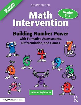 Math Intervention 3-5: Building Number Power with Formative Assessments, Differentiation, and Games, Grades 3-5 book cover