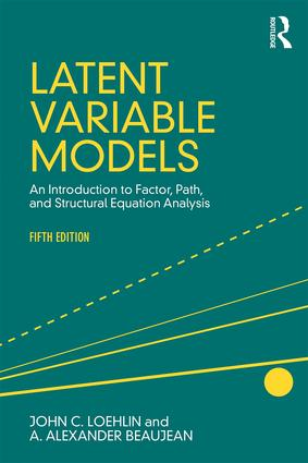 Latent Variable Models: An Introduction to Factor, Path, and Structural Equation Analysis, Fifth Edition, 5th Edition (Paperback) book cover