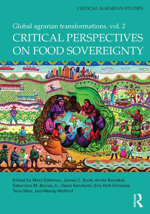 Critical Perspectives on Food Sovereignty: Global Agrarian Transformations, Volume 2 book cover