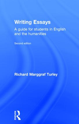 Writing Essays: A guide for students in English and the humanities, 2nd Edition (Hardback) book cover