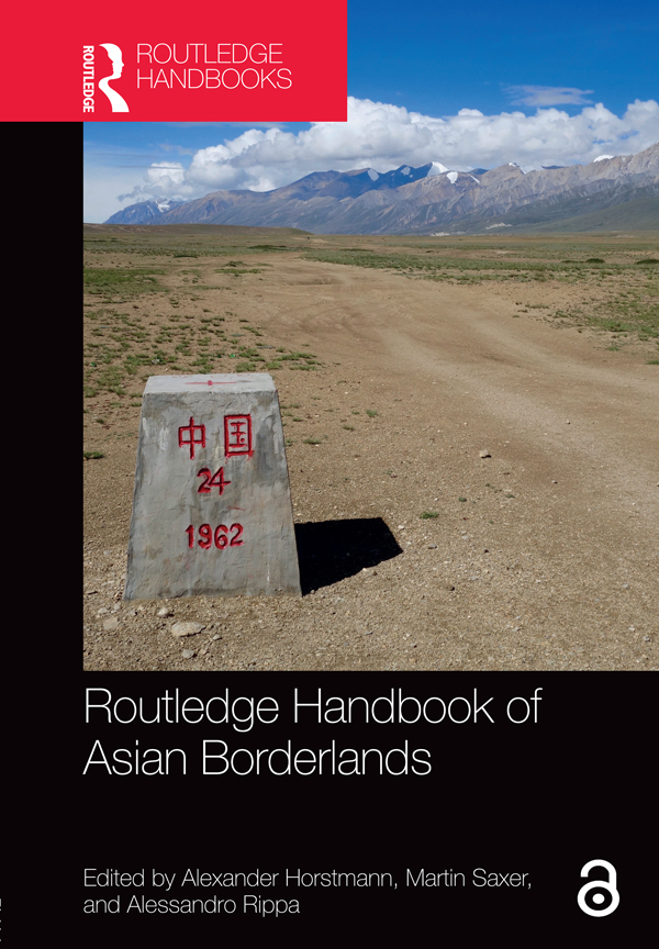 Routledge Handbook of Asian Borderlands: 1st Edition (Hardback) book cover
