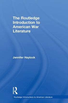 The Routledge Introduction to American War Literature: 1st Edition (Hardback) book cover