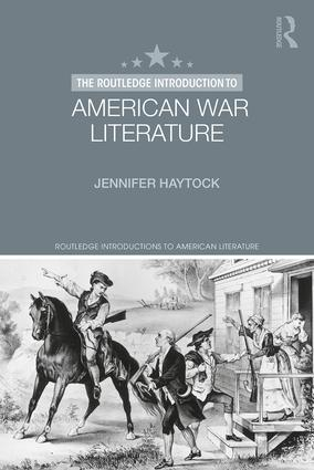 The Routledge Introduction to American War Literature book cover