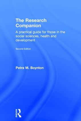 The Research Companion: A practical guide for those in the social sciences, health and development book cover