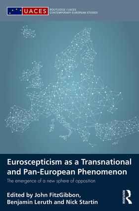 Euroscepticism as a Transnational and Pan-European Phenomenon: The Emergence of a New Sphere of Opposition (Hardback) book cover