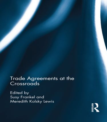 Trade Agreements at the Crossroads book cover