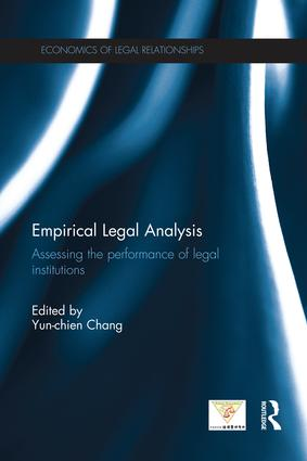 Empirical Legal Analysis: Assessing the performance of legal institutions, 1st Edition (Paperback) book cover