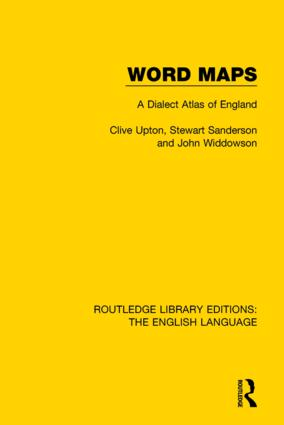 Word Maps: A Dialect Atlas of English book cover