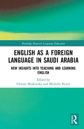 English as a Foreign Language in Saudi Arabia: New Insights into Teaching and Learning English book cover