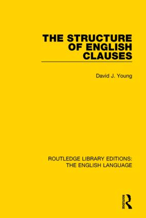 The Structure of English Clauses